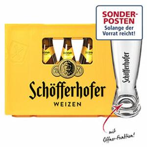 Schöfferhofer Weizen versch. Sorten, 20 x 0,5 Liter