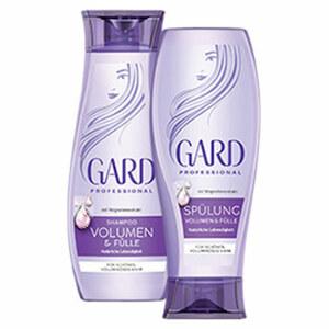 Gard Shampoo oder Spülung jede 250-ml-Flasche