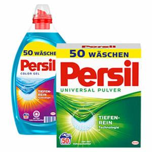 Persil Waschmittel 50/40 Waschladungen, versch. Sorten, jede Packung/Flasche