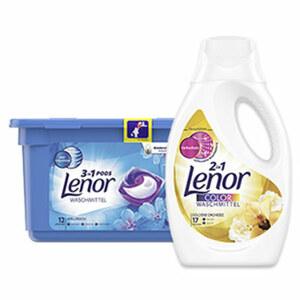 Lenor Waschmittel 12/16/17 Waschladungen, versch. Sorten, 12/16/17 Waschladungen,