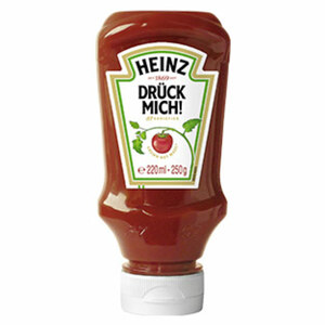 Heinz Tomato Ketchup jede 220-ml-Flasche