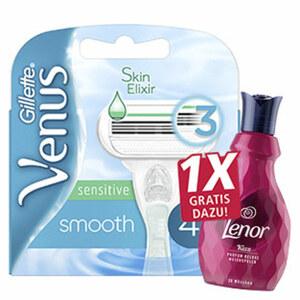 Gillette Venus Smooth Rasierklingen jede 4er- Packung