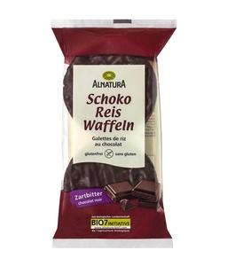 Schoko-Reiswaffeln Zartbitter