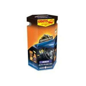 Armor All Geschenkbox Innenreinigung, 4-teiliges Auto-Pflege-Set inkl. gratis Mikrofasertuch
