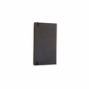 Moleskine Notizbuch mit festem Einband im Taschenformat, 96Blatt, liniert, flexibler Einband, schwarz