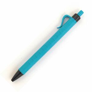 Staples Druckkugelschreiber, hellblauer Schaft mit Griff