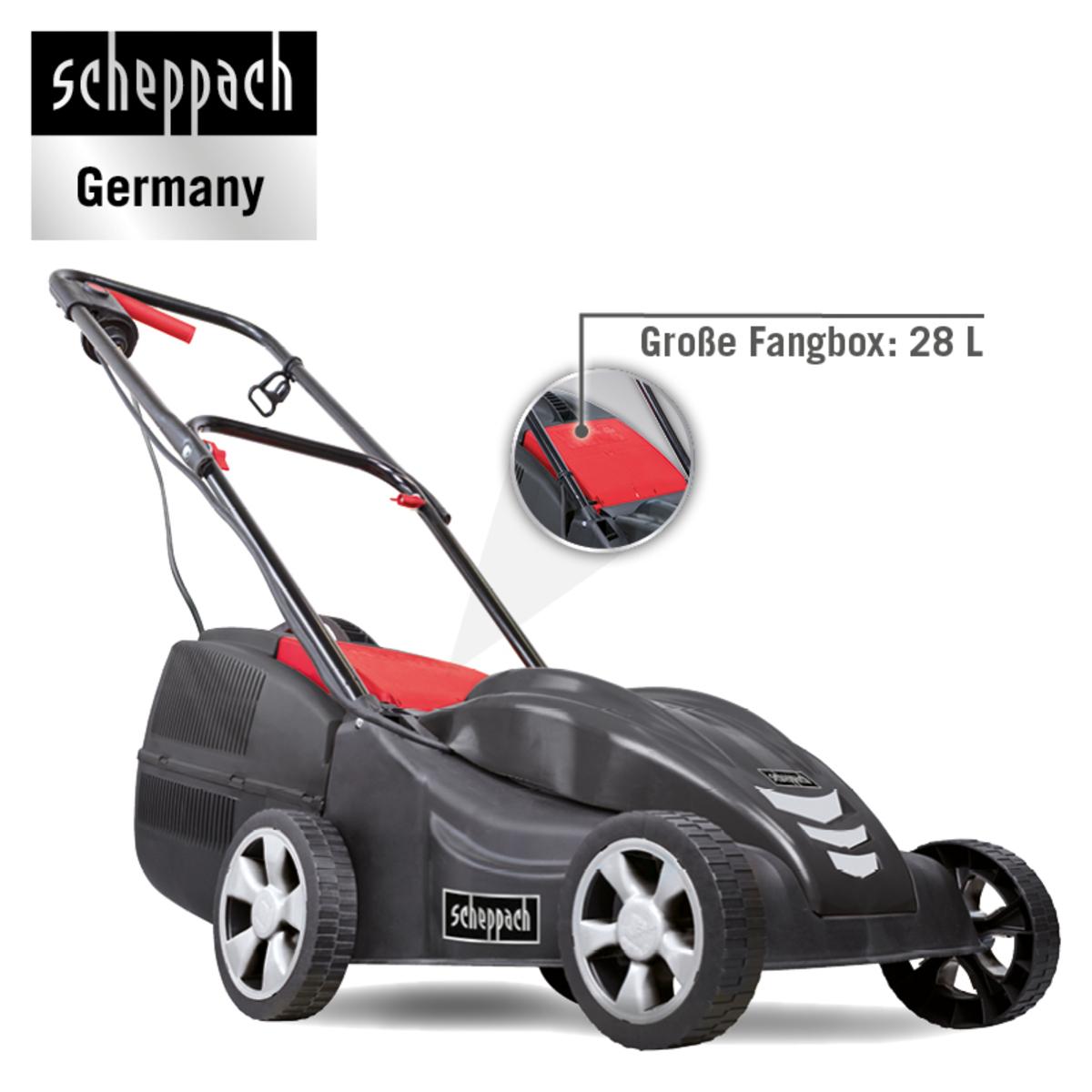 Bild 4 von Scheppach Elektro Rasenmäher EMP-33 1.00kW 230V/50Hz