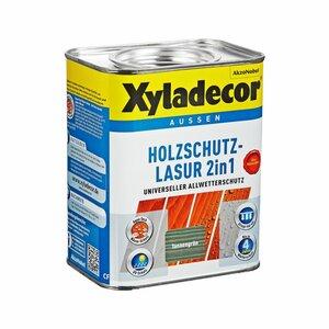 Xyladecor -              Xyladecor Holzschutzlasur 2in1 tannengrün 0,75 l