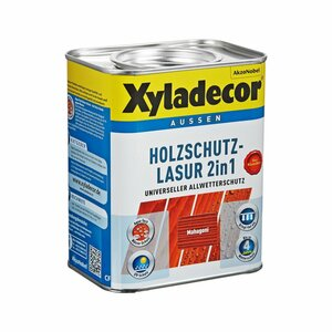 Xyladecor -              Xyladecor Holzschutzlasur 2in1 mahagonifarben 0,75 l