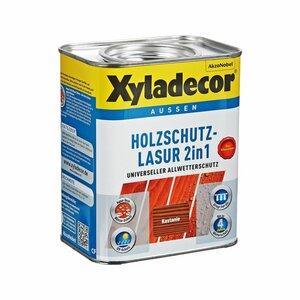 Xyladecor -              Xyladecor Holzschutzlasur 2in1 kastanienfarben 0,75 l