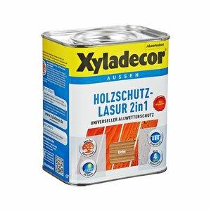 Xyladecor -              Xyladecor Holzschutzlasur 2in1 eichefarben 0,75 l