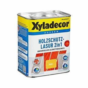 Xyladecor -              Xyladecor Holzschutzlasur 2in1 kieferfarben 0,75 l