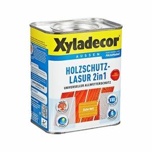 Xyladecor -              Xyladecor Holzschutzlasur 2in1 eichefarben hell 0,75 l