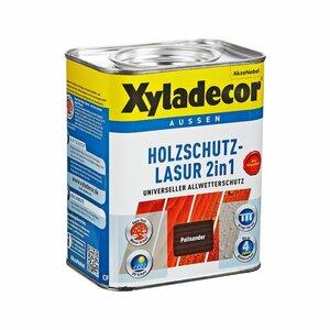 Xyladecor -              Xyladecor Holzschutzlasur 2in1 palisanderfarben 0,75 l