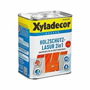 Xyladecor -              Xyladecor Holzschutzlasur 2in1 teakfarben 0,75 l