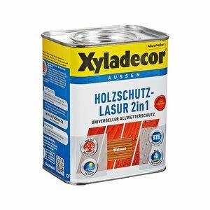Xyladecor -              Xyladecor Holzschutzlasur 2in1 walnussfarben 0,75 l