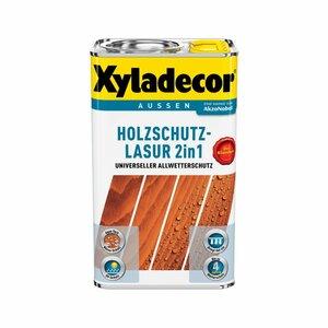 Holzschutzlasur 2in1 walnussfarben 5 l