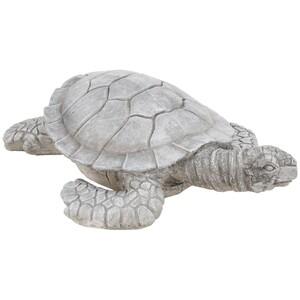 Gartendekoration Schildkröte XXL aus Zement