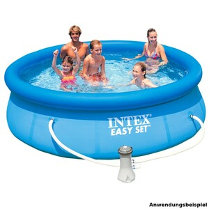 Intex Easy Set Swimming Pool 305 x 76 cm mit Filterpumpe
