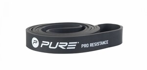 Pure Pro Resistance Band With Pure Logo, Heavy, Color Black
