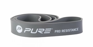 Pure Resistance Band With Pure Logo, Extra Heavy, Color Grey