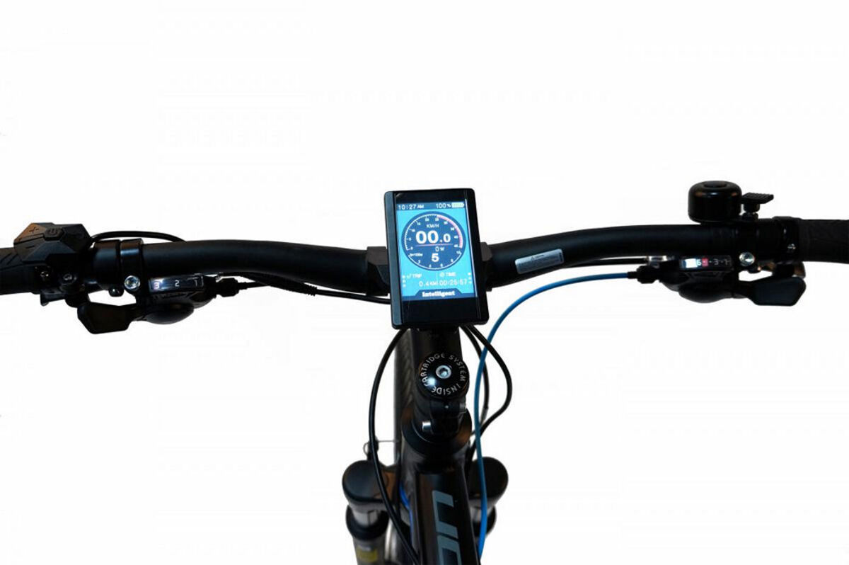 "Bild 3 von Devron E-Bike Trekking 28"" black/blue 28161"
