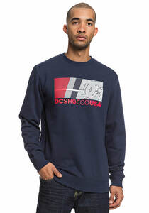 DC High Value Crew - Sweatshirt für Herren - Blau