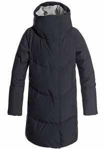 Roxy Abbie - Mantel für Damen - Schwarz