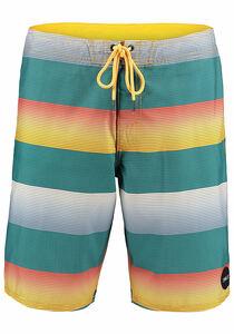 O´Neill Santa Cruz Stripe - Boardshorts für Herren - Grün
