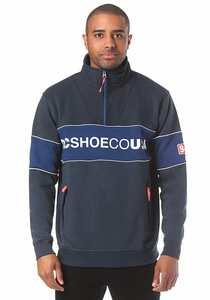 DC Clewiston Mock - Sweatshirt für Herren - Blau