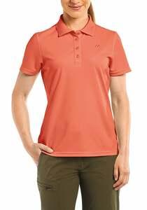 Maier Sports Ulrike - Outdoorshirt für Damen - Orange