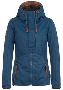 NAKETANO Der Sportive Schwanz - Jacke für Damen - Blau