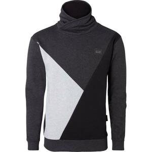 Herren Sweatshirt mit Schalkragen