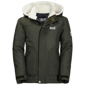 Jack Wolfskin Winter-Hardshell Jungen Boys Great Bear Jacket 104 braun