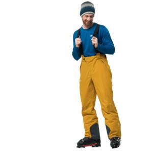 Jack Wolfskin Skihose Männer Exolight Pants Men 50 gelb