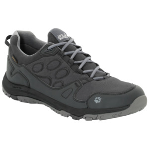 Jack Wolfskin Wasserdichte Männer Wanderschuhe Activate Texapore Low Men 47,5 phantom