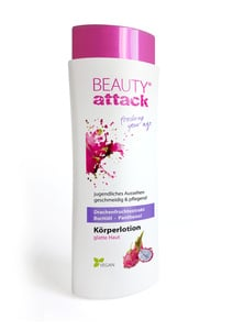 BEAUTYattack Bodylotion für glatte Haut  400 ml