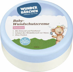 Wunderbärchen Baby-Wundschutzcreme Sensitive 150 ml