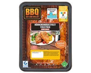 BBQ Hähnchenbrustfilet, mediterran