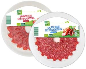 bio Salami mit Edelschimmel