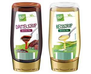 bio Dattel- oder Reissirup