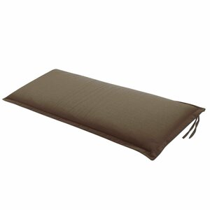 Bank-Auflage   Unico 110x45cm, in taupe