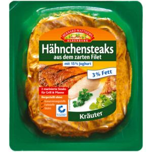 Bernard Matthews Oldenburg Hähnchensteak Joghurt Kräuter 330g, 2 Stück