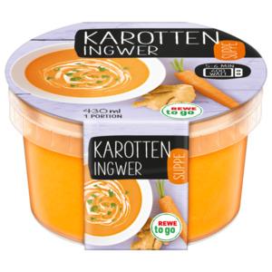 REWE to go Karotten-Ingwer-Suppe 430ml