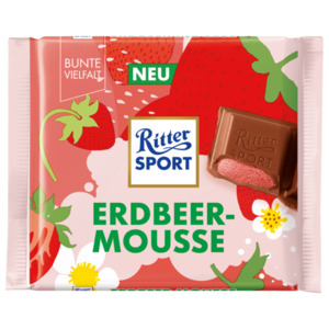 Ritter Sport Erdbeer-Mousse 100g