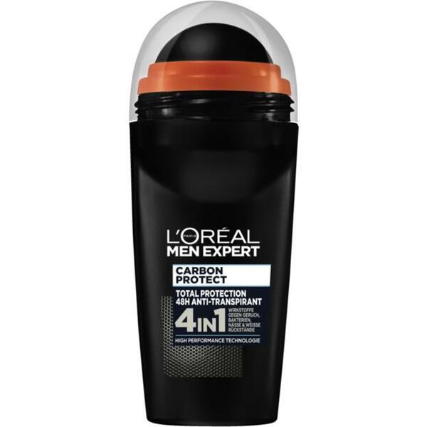 L'Oréal Paris Men Expert Anti-Transpirant Roll-On Carb 3.98 EUR/100 ml