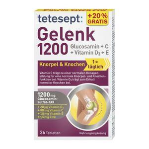 tetesept Gelenk 1200 Knorpel & Knochen 10.41 EUR/100 g