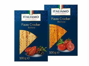 Pizza-Cracker