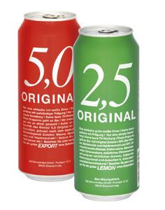 Original 2,5 Radler/ Original 5,0
