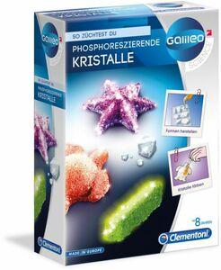 Galileo - Fluoreszierende Kristalle - Clementoni